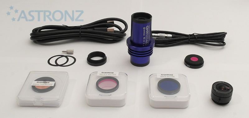 QHY5III462 Colour Camera + Expansion Kit