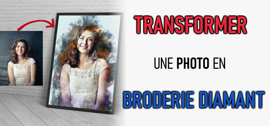 Transformer une photo en Broderie Diamant
