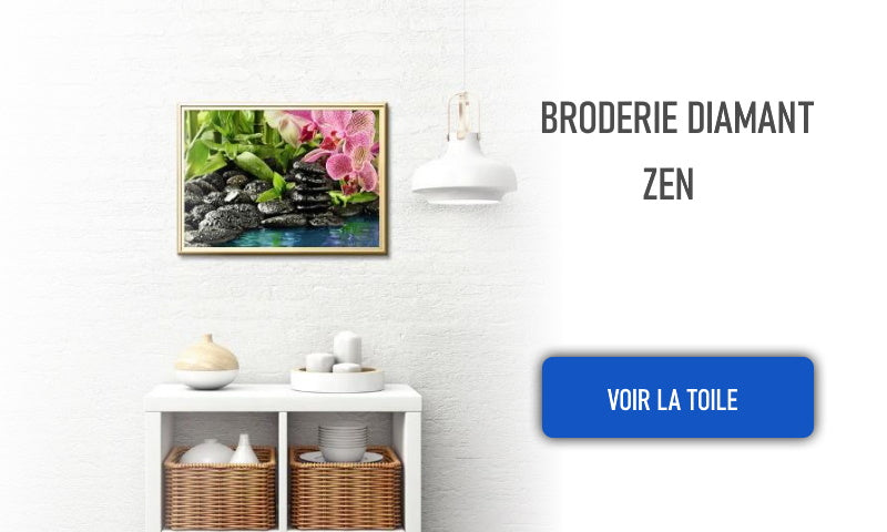 broderie diamant zen anti stress