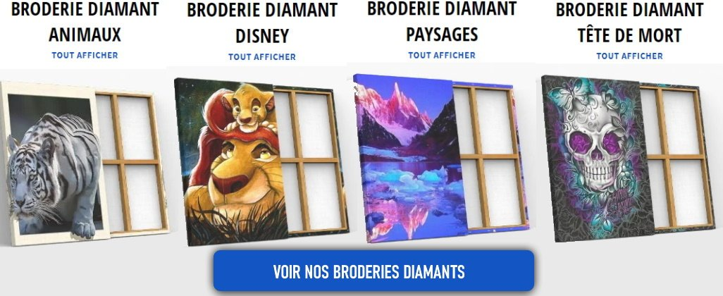 collections broderies diamants