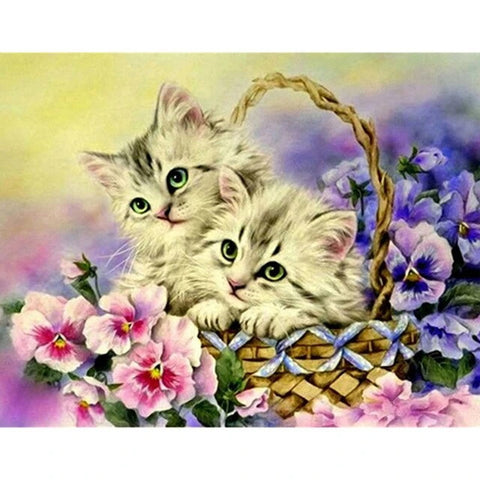 Broderie Diamant Chatons dans Panier