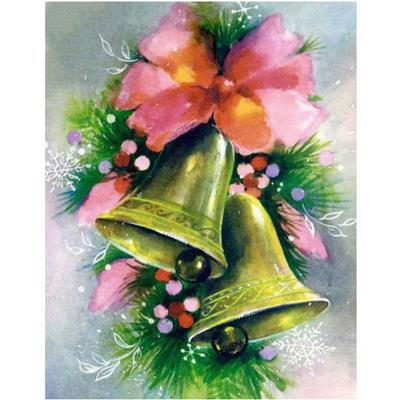 Broderie Diamant Cloches du Sapin