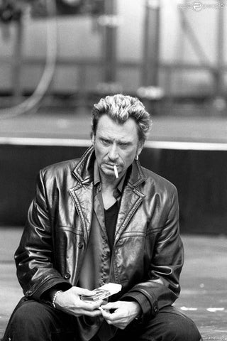 Broderie Diamant Johnny Hallyday Cigarette