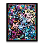 broderie diamant reine des neiges