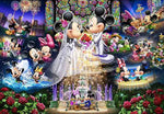 broderie diamant mariage mickey minnie