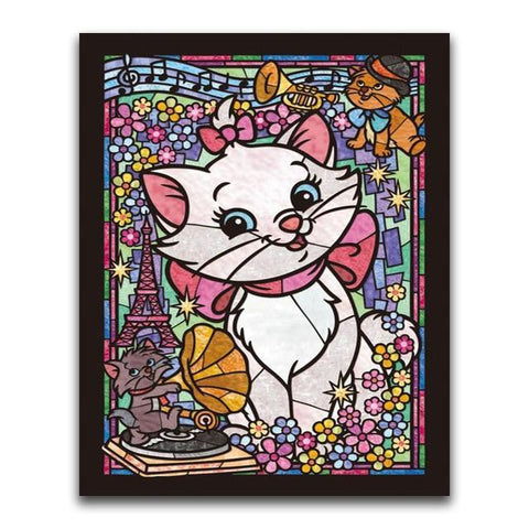 broderie diamant marie aristochats