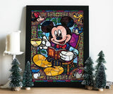 broderie diamant mickey decor