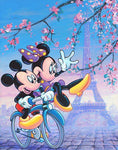 broderie diamant mickey et minnie a paris