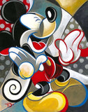 broderie diamant mickey oeuvre d'art
