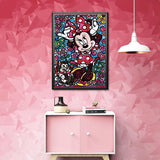 broderie diamant minnie decor