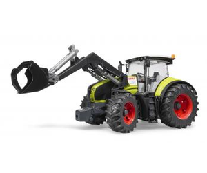Bruder Claas Axion 950 with Frontloader