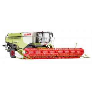 Wiking model Claas Lexion 770 Combine Harvester with V 1200 Grain Mower Attachment