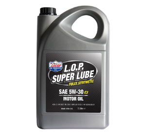 Lucas L.O.P. Super Lube Fully Synthetic 5w-30 C3 Motor Oil (5 ltr)