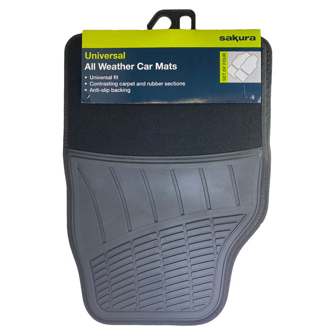 Universal All Weather Car Mats