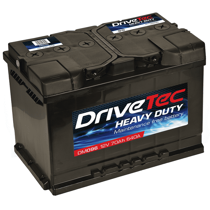 Car Battery - DriveTec Heavy Duty 096