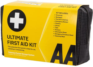 AA Ultimate First Aid Kit, Conforms to DIN 13164