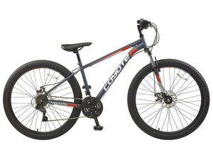 "Mens Coyote Mirage FS 18"" Gents 650b Wheel Mountain Bike Grey"