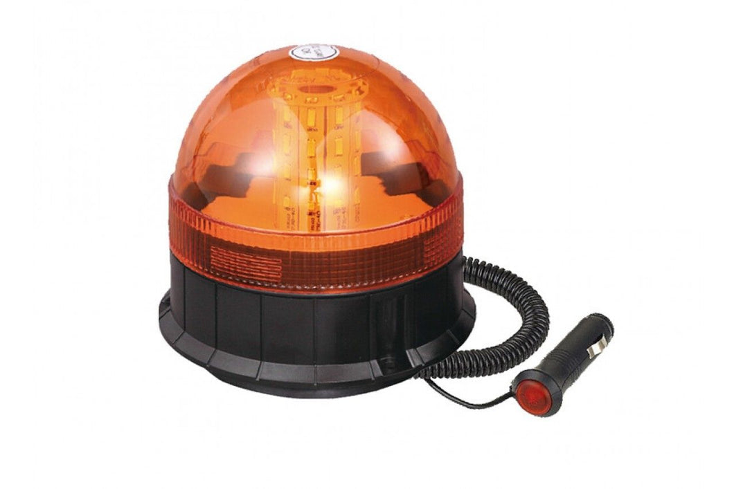 Maypole Magnetic LED Amber Warning Beacon 12/24V