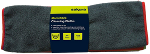 Sakura Microbibre Cleaning Cloths (pack of 6)