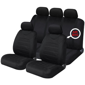 Carnaby Black Full Set Seat Covers