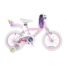 "Load image into Gallery viewer, Girls Concept Unicorn 16"" Bike"