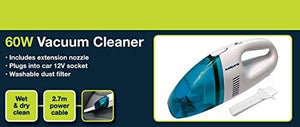 Sakura Portable Vacuum Cleaner For Car Caravan Boat - 60 Watt