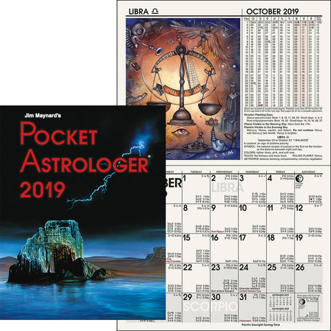 2019 Pocket Astrologer