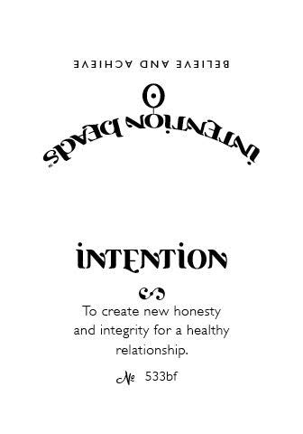 Intention Bracelet: To Create New Honesty and Integrity for a Healthy Relationship