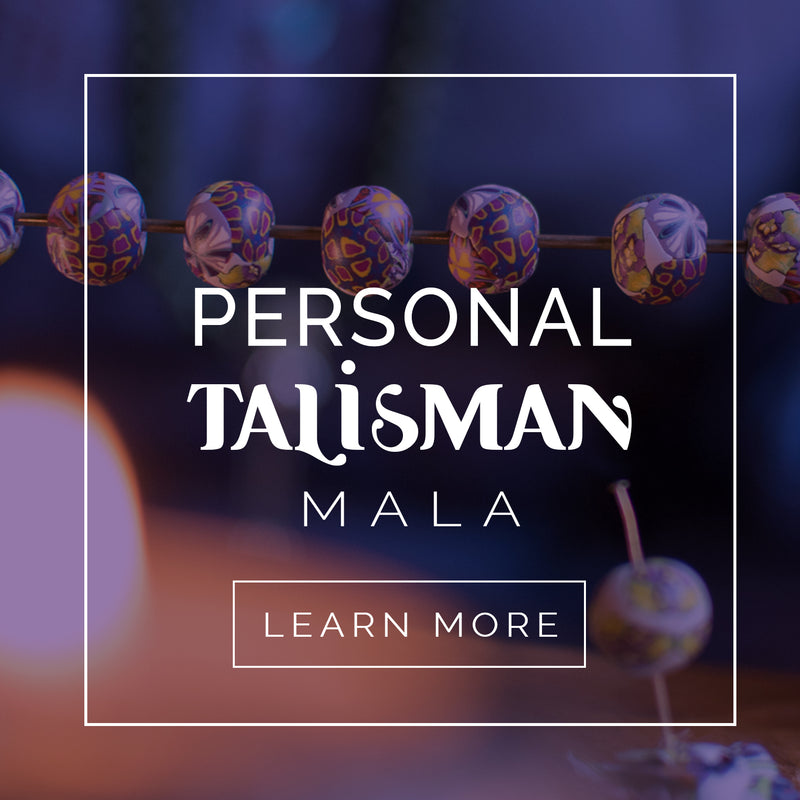 Personal Talisman Mala - Intention Beads | Astrology | Talisman