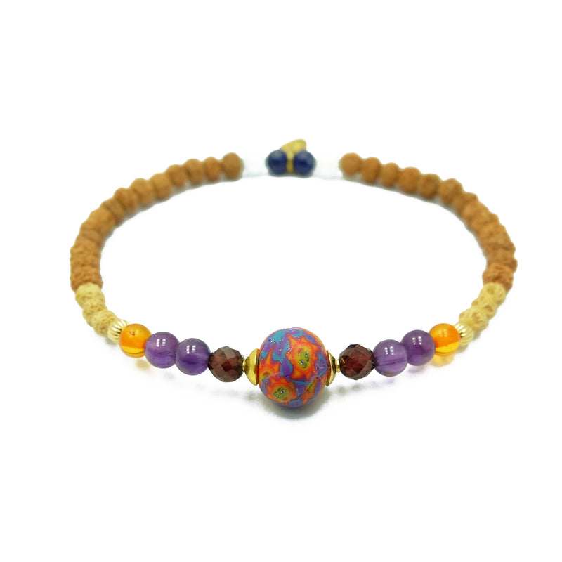 Jupiter in Sagittarius Celestial Bracelet - Intention Beads | Astrology | Talisman