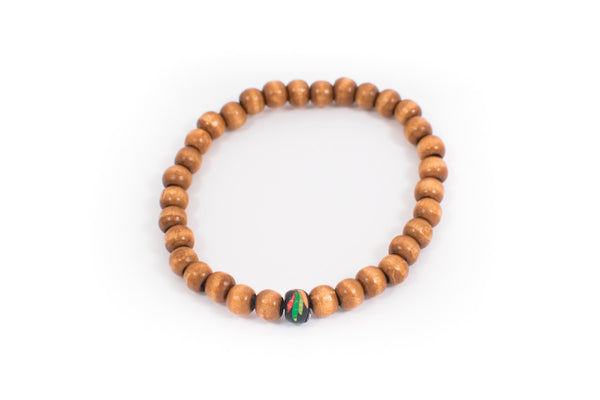 Blackhawks Wood Bracelets - Intention Beads | Astrology | Talisman