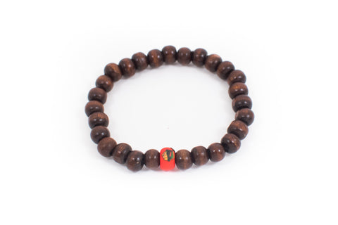 Blackhawks Wood Bracelets