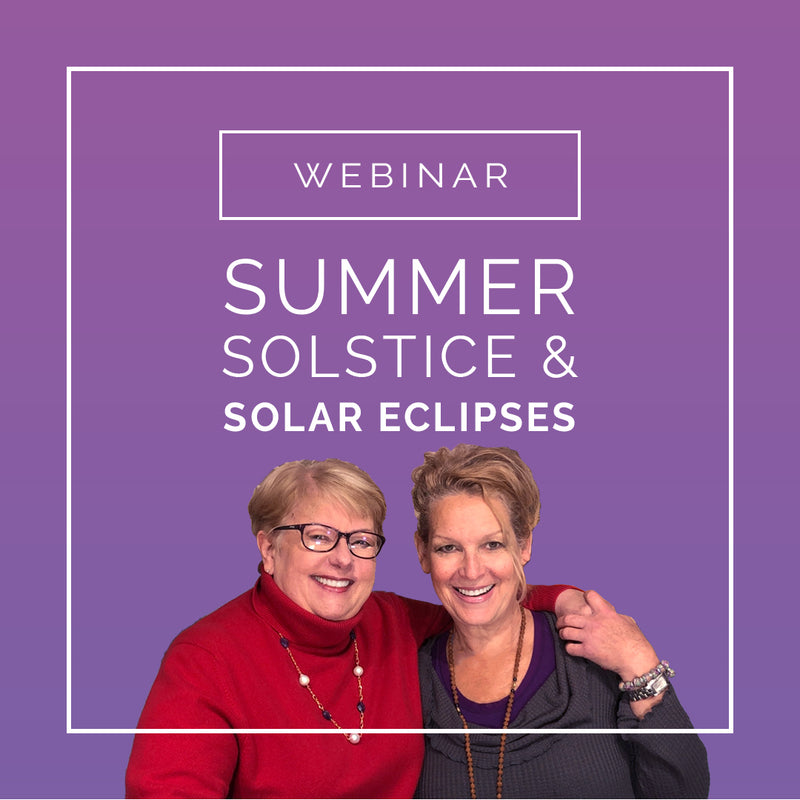 Summer Solstice & Solar Eclipse Astrology Webinar - Intention Beads | Astrology | Talisman