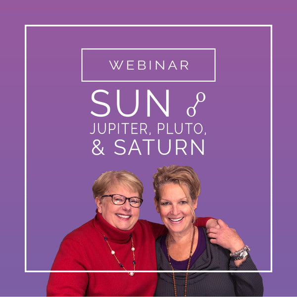 Sun opposing Jupiter, Pluto, & Saturn Astrology Webinar - Intention Beads | Astrology | Talisman