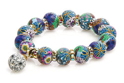Intention Bracelet: To Find Expression in Charitable Work - Intention Beads | Astrology | Talisman