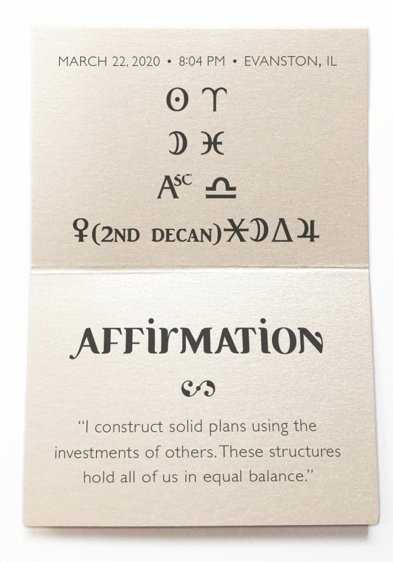 To build solid foundations with others. - Intention Beads | Astrology | Talisman