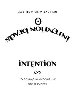 Intention Bracelet: To Engage in Informative Social Events