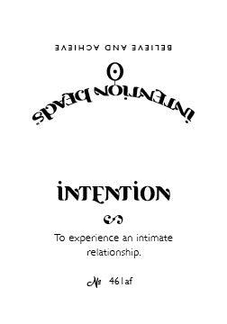 Intention Bracelet: To Experience an Intimate Relationship