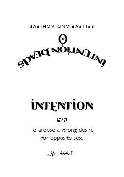 Intention Bracelet: To Arouse a Strong Desire for Opposite Sex