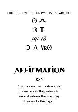 Intention Bracelet: To Keep a Journal of Hidden Feelings to Renew the Soul - Intention Beads | Astrology | Talisman