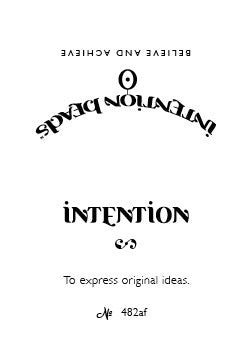 Intention Bracelet: To Express Original Ideas