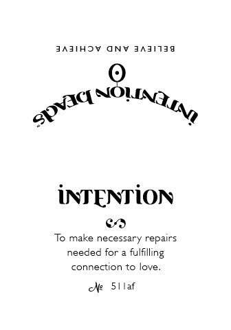 Intention Bracelet: To Make Necessary Repairs Needed for a Fulfilling Connection to Love