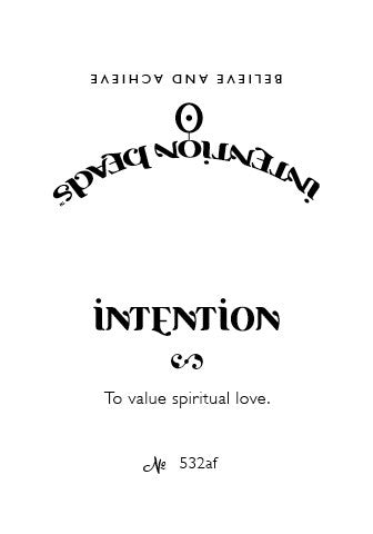 Intention Bracelet: To Value Spiritual Love