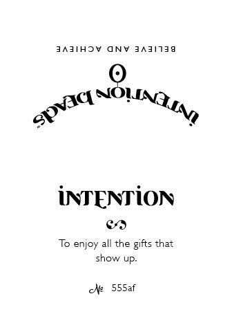 Intention Bracelet: To Enjoy The Gifts That Show Up