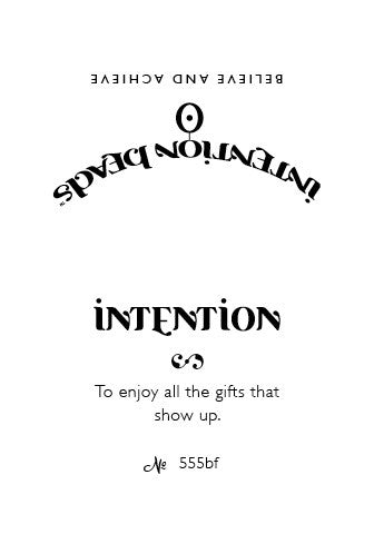 Intention Bracelet: To Enjoy The Gifts That Show Up - Intention Beads | Astrology | Talisman