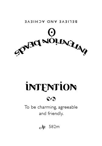 Intention Bracelet: To Be Charming, Agreeable and Friendly