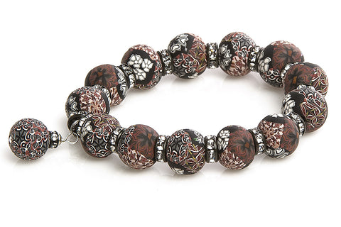 Intention Bracelet: To be positive and practical in beauty sales.