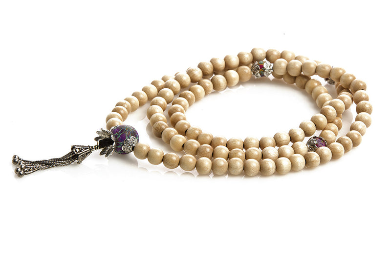 Mala Prayer Beads: For self discipline and restraint - Intention Beads | Astrology | Talisman