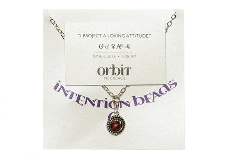 "Orbit Necklace: ""I project a loving attitude"""