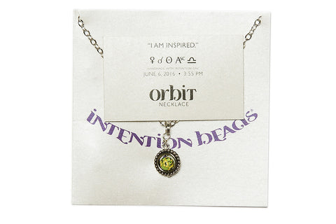 Orbit Necklace: I am inspired.